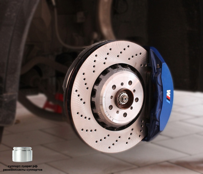 BMW X5 M F85 BREMBO BRAKE 6 POT 2016